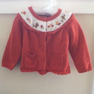🍀  Gymboree Cardigan Sweater 2T